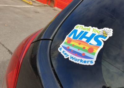 NHS Sticker