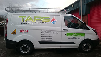 TAPS Van Graphics